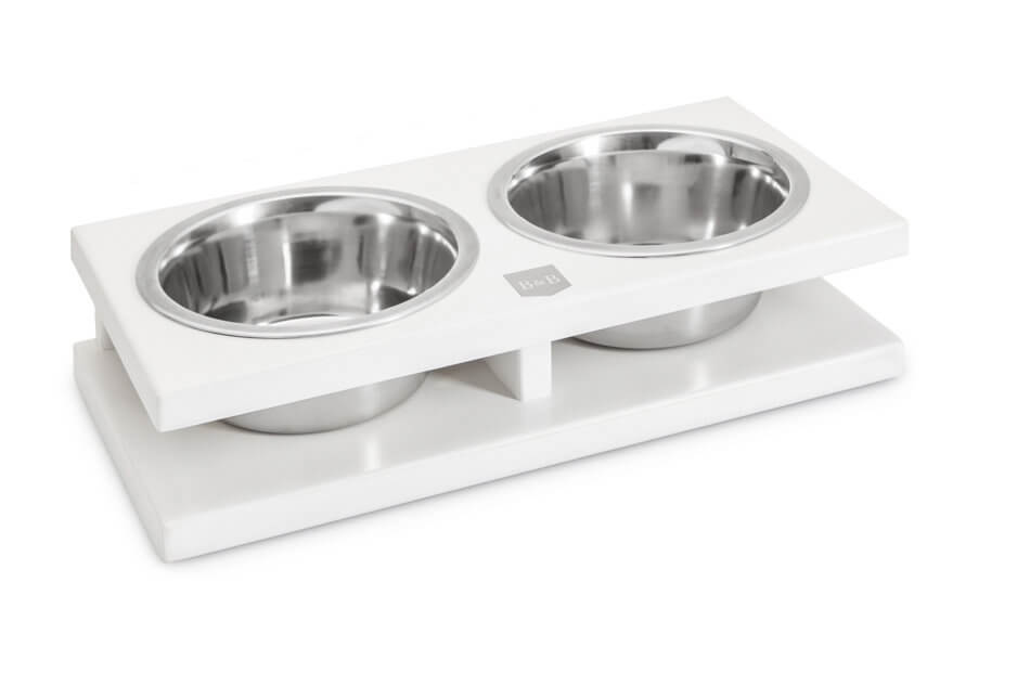 miska dla psa grande jasmine biala bowl and bone republic drewniana ps1