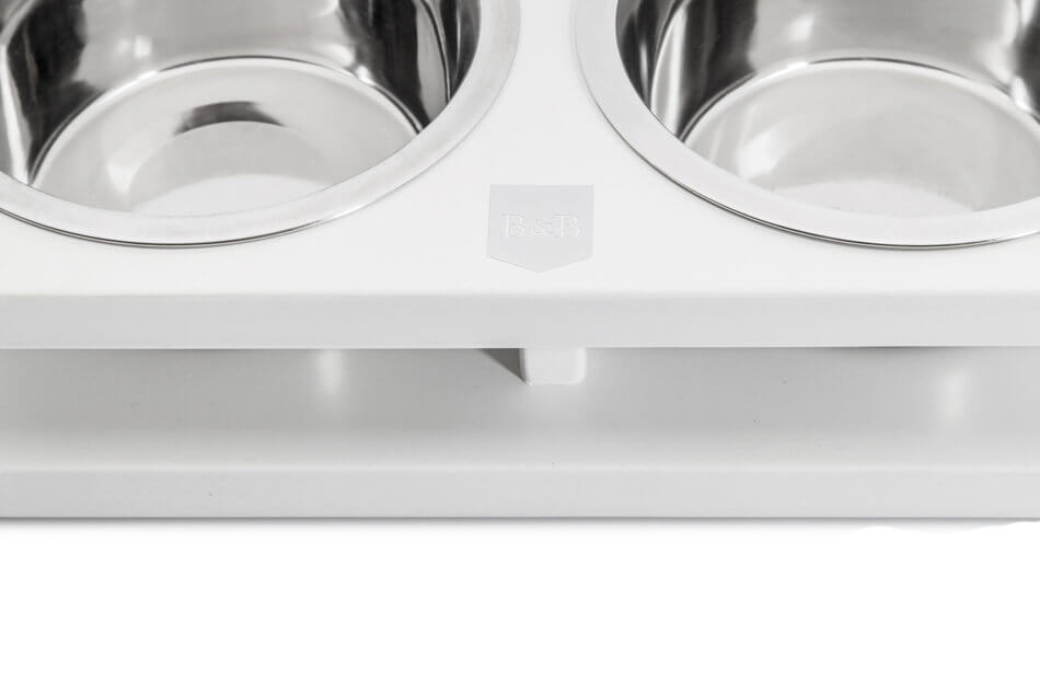 miska dla psa grande jasmine biala bowl and bone republic drewniana ps2